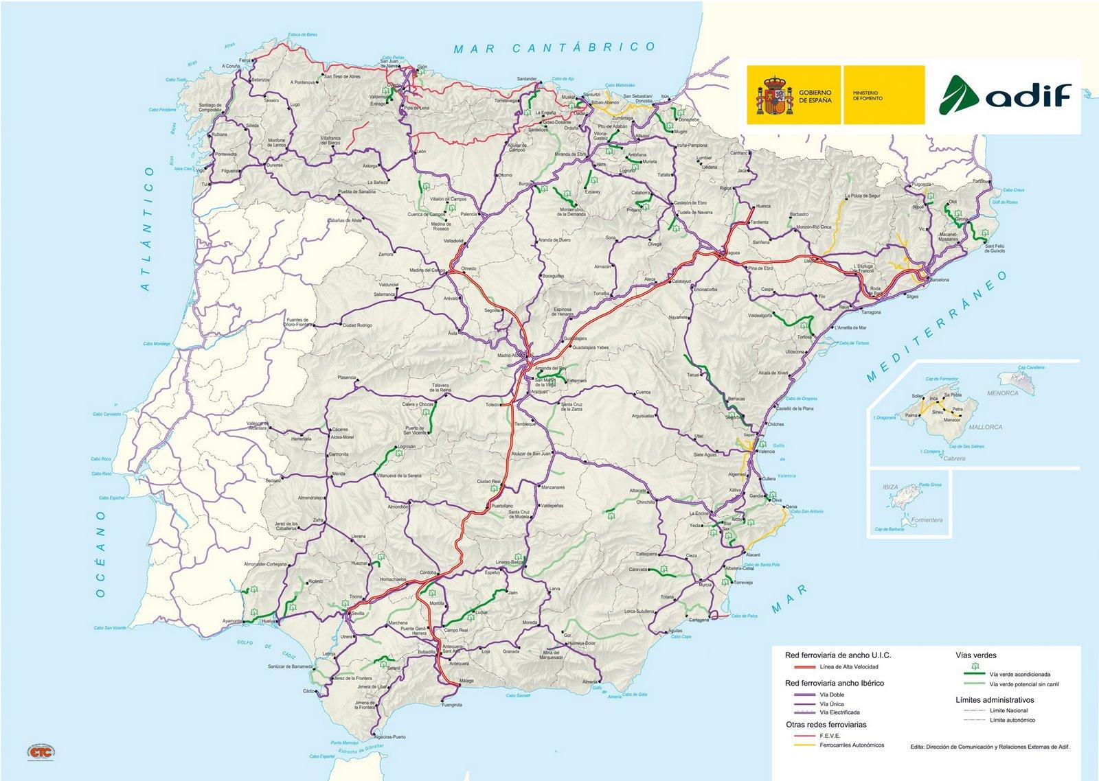 ver mapa de espanha Rede Europeia   Espanha ver mapa de espanha